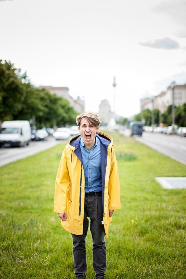 Berlin, Johannes Langer, Mann, Portrait, Schauspieler