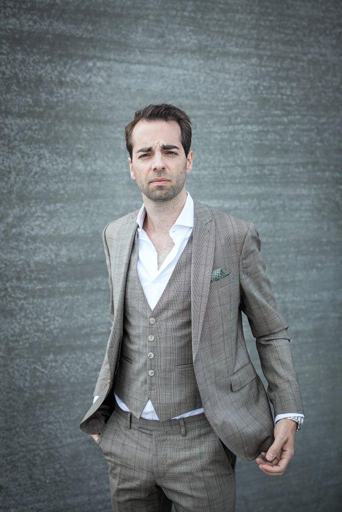 Joscha Henningsen, Mann, Portrait, Schauspieler