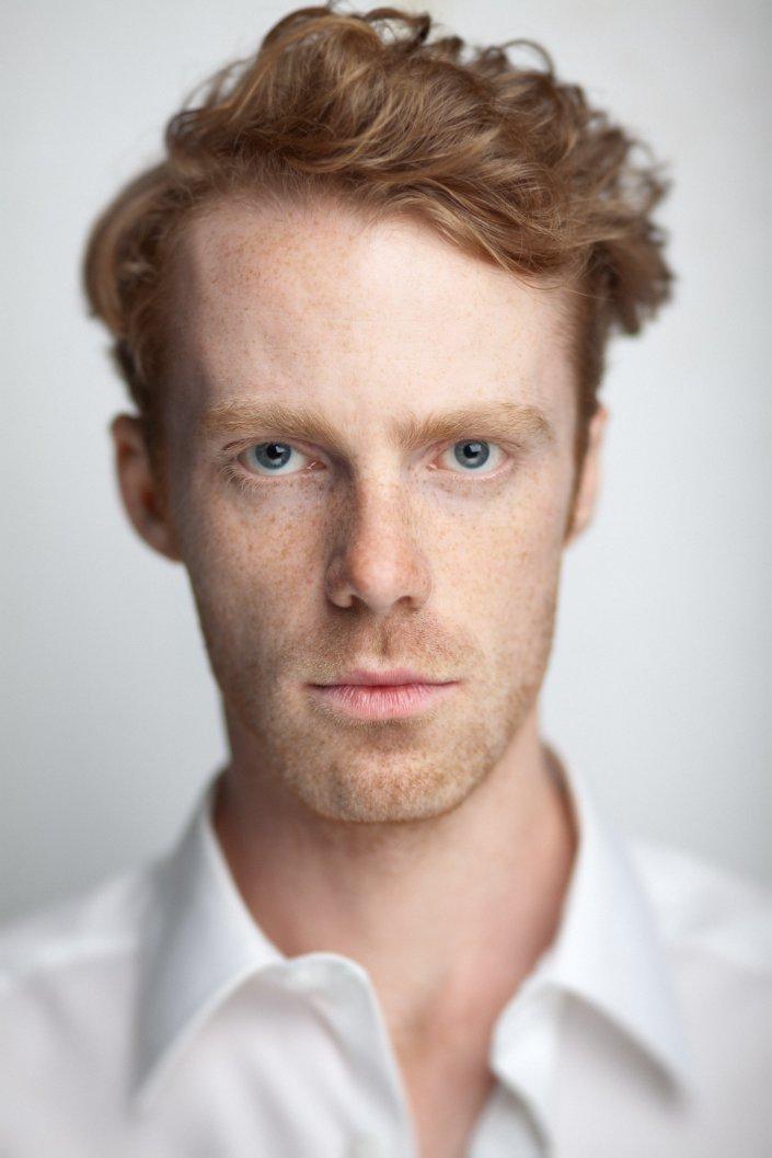 Mann, Portrait, Schauspieler, Julius Ohlemann