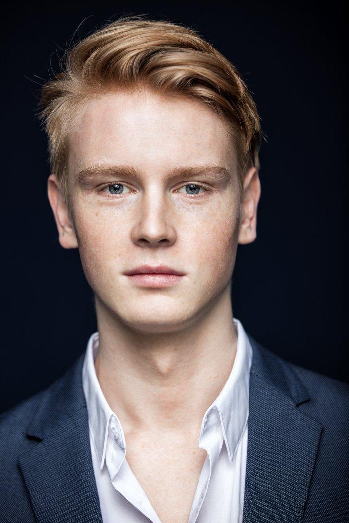 Lukas Zumbrock, Mann, Portrait, Schauspieler