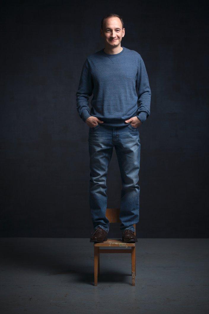 Mann, Marcus Prell, Portrait, Schauspieler