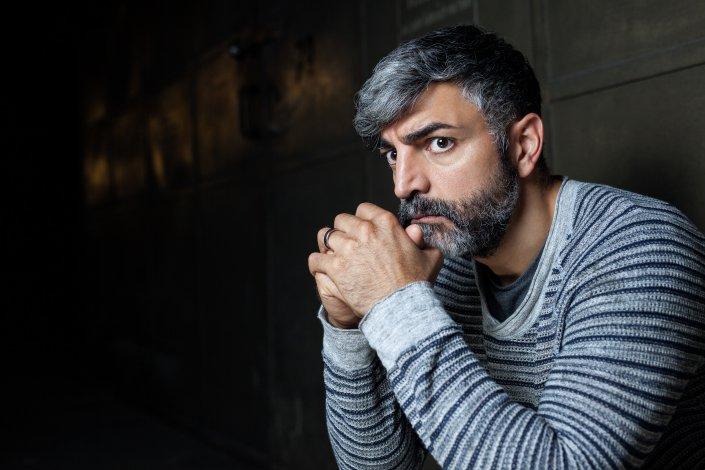 Mann, Neil Malik Abdullah, Portrait, Schauspieler
