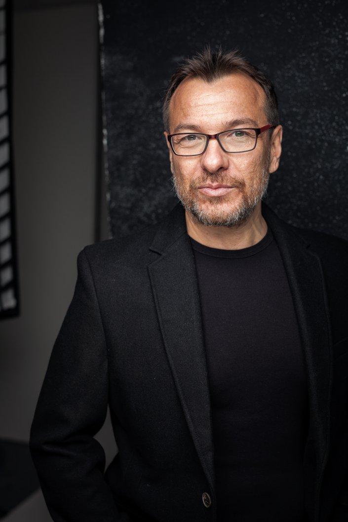 Mann, Nikolaos Chilios, Portrait, Schauspieler