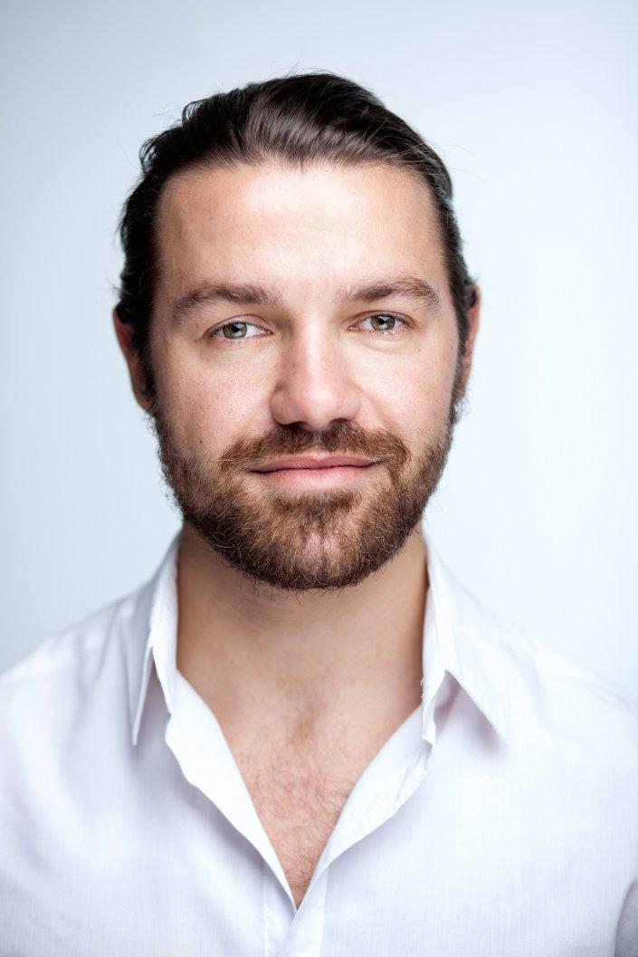 Mann, Portrait, Richard Zapf, Schauspieler