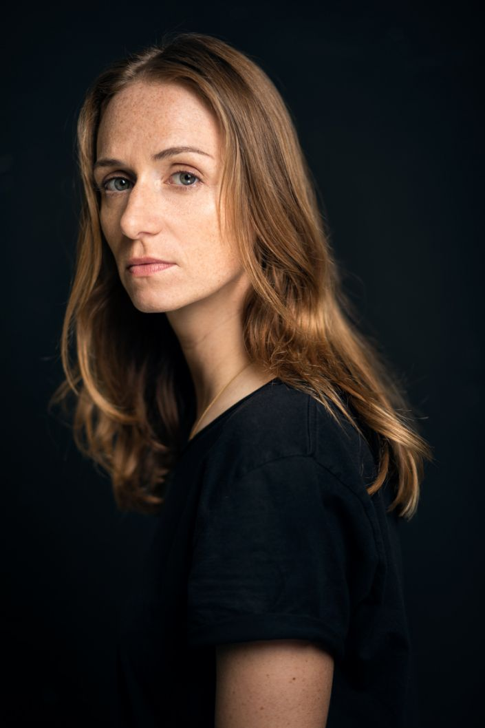 Frau, Portrait, Schauspieler, Simone Kern 2017
