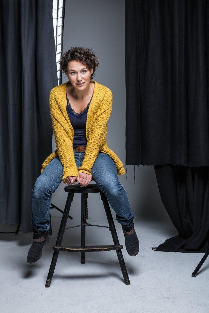 Claudia Kaatzsch, Frau, Portrait, Schauspieler