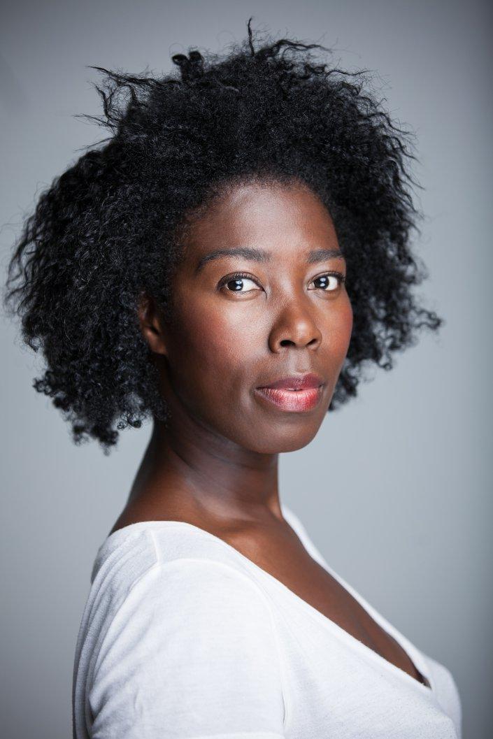 Dayan Kodua, Frau, Portrait, Schauspieler