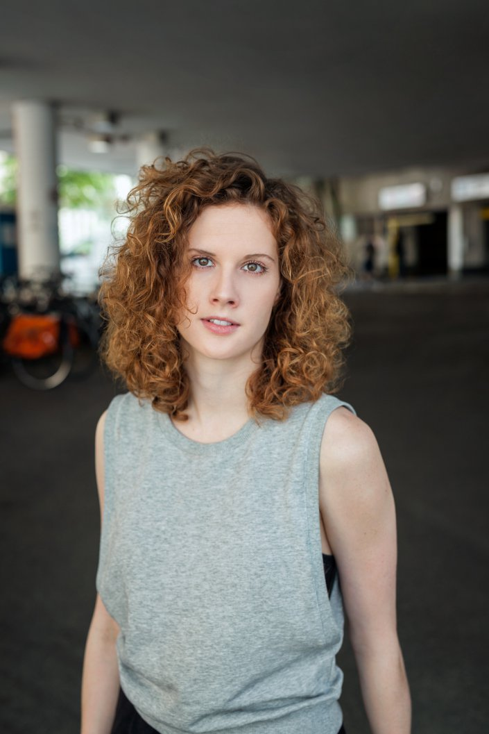 Frau, Julia Riedler, Kammerspiele, Portrait, Schauspieler