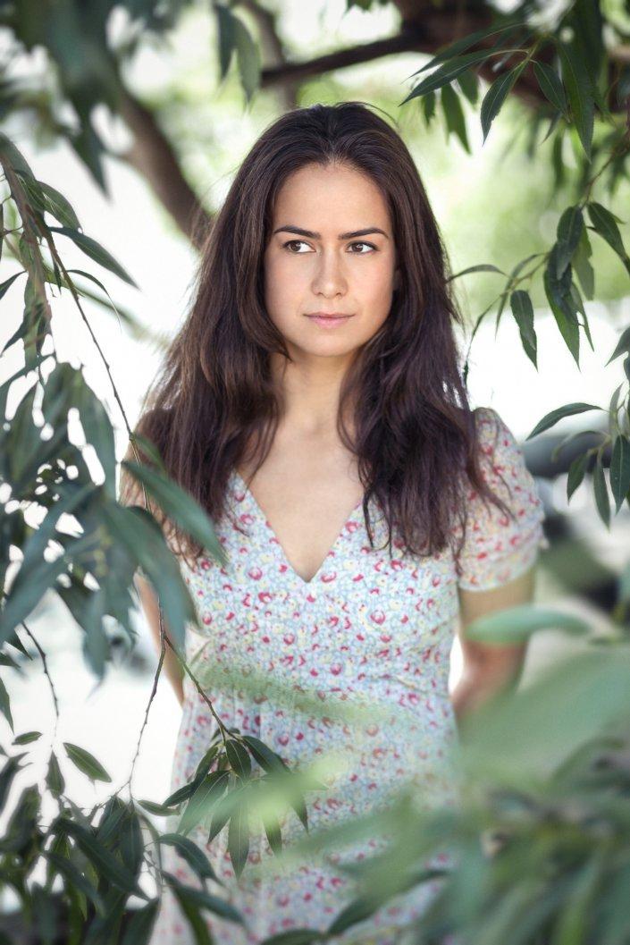 Frau, Portrait, Schauspieler, Viviane Eggers