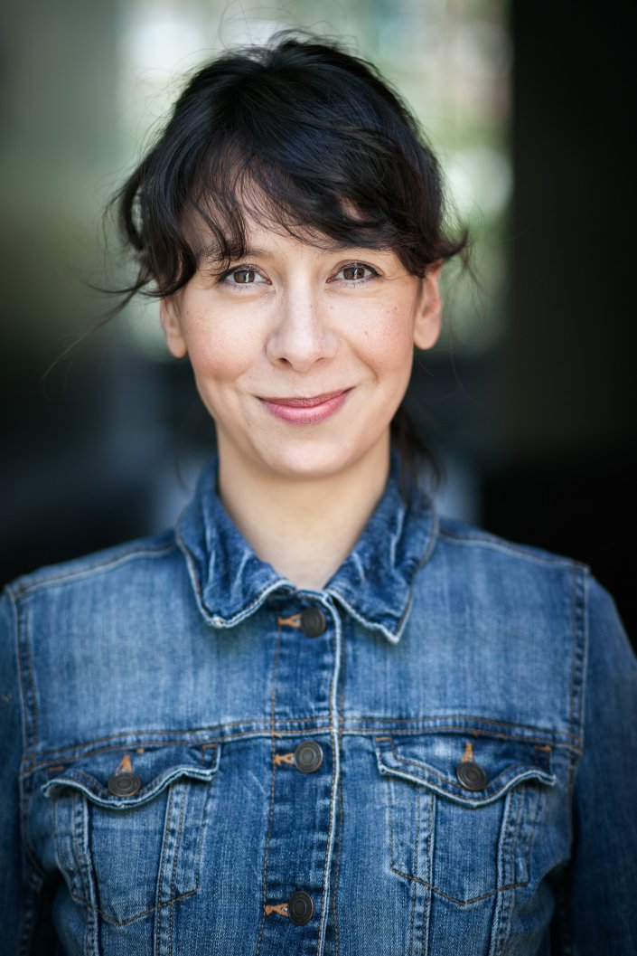 Frau, Portrait, Schauspieler, Yuri Beckers
