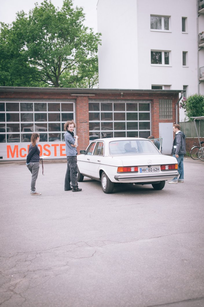 Am Ende ist man tot, Setfotos, Kino, Hamburg, Thalia Theater