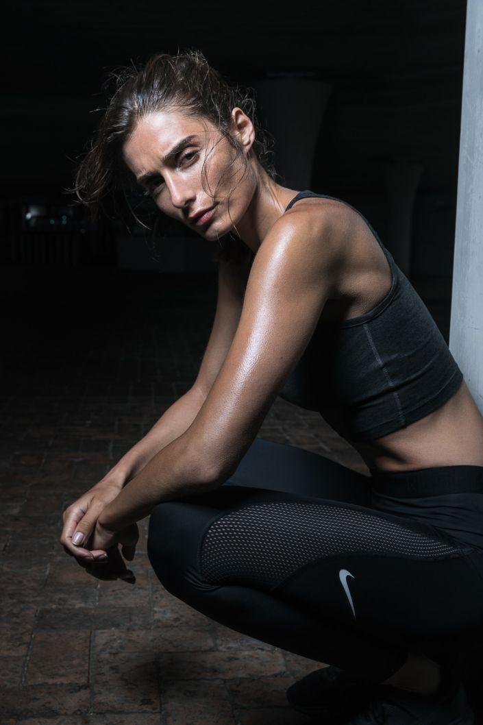 Running, Sports, outdoor, dark, freeletics, woman, nike